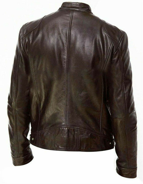 Men PU Leather Jacket - FLJ CORPORATIONS