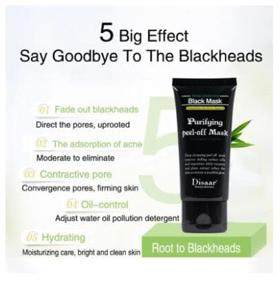 Deep Cleaning Acne Effective Comedo Remover Black Mask - FLJ CORPORATIONS