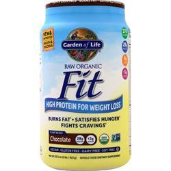 Garden Of Life Raw Organic Fit - High Protein for Weight Loss Chocolate 922 grams - FLJ CORPORATIONS