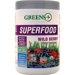 Greens Plus Organic Superfood Wild Berry 240 grams - FLJ CORPORATIONS