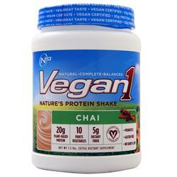 Nutrition 53 Vegan1 Chai 1.5 lbs - FLJ CORPORATIONS