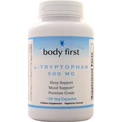 Body First L-Tryptophan (500mg) 120 vcaps - FLJ CORPORATIONS