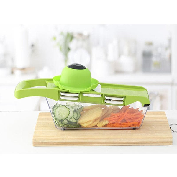 All in 1 Vegetable Chopper and Slicer Dicer Onion Chopper Julienne, Multifunctional Cutter for Fruits Veggie,Kitchen Gadget - FLJ CORPORATIONS