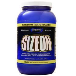 Gaspari Nutrition SizeOn Maximum Performance Lemon Ice 3.59 lbs - FLJ CORPORATIONS