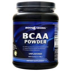 BodyStrong BCAA Powder Unflavored 500 grams - FLJ CORPORATIONS