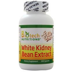 Biotech Nutritions White Kidney Bean Extract (500mg) 200 caps - FLJ CORPORATIONS