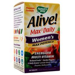 Nature's Way Alive! Max3 Daily Women's - Max Potency 90 tabs - FLJ CORPORATIONS