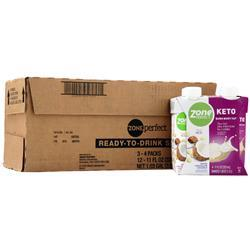 Zone Perfect Keto RTD White Chocolate Coconut 12 bttls - FLJ CORPORATIONS