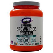Now Sprouted Brown Rice Protein Unflavored 2 lbs - FLJ CORPORATIONS