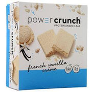 Power Crunch Power Crunch Wafers French Vanilla Creme 12 bars - FLJ CORPORATIONS