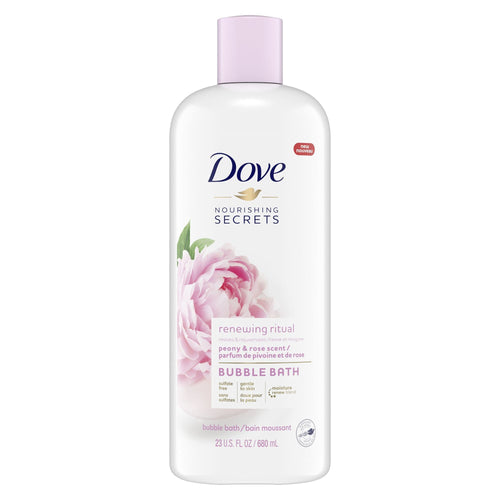 Dove Nourishing Secrets Bubble Bath Peony and Rose 23 oz - FLJ CORPORATIONS