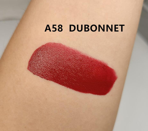 new Matte lipstick Waterproof Velvet Lipstick Sexy Red Brown Pigments Makeup 3g Lipsticks sweet smell 1pc