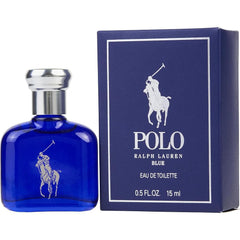 Ralph Lauren Polo Blue Eau De Toilette Spray, Cologne for Men, 0.5 Oz