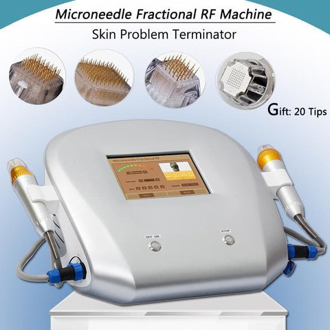 Microneedling rf Scar Removal Machine Radio Frequency rf treatment acne marks Farctional rf Stretch Marks Removal equipment - FLJ CORPORATIONS