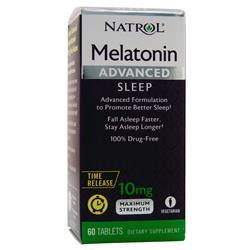 Natrol Melatonin Advanced Sleep (10mg) 60 tabs - FLJ CORPORATIONS