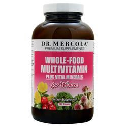 Dr. Mercola Whole-Food Multivitamin plus Vital Minerals for Women 240 tabs - FLJ CORPORATIONS