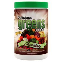 Greens World Delicious Greens 8000 Chocolate 300 grams - FLJ CORPORATIONS
