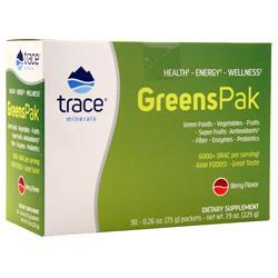 Trace Minerals Research Greens Pak Berry 30 pckts - FLJ CORPORATIONS