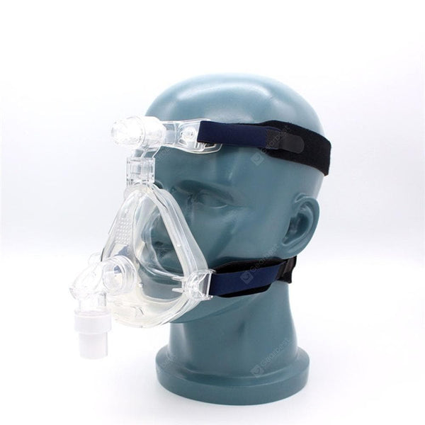 CPAP Full Face Mask Anti-Snoring Ventilator Nose and Mouth Mask Respirator Focus on Sleep Apnea Lightweight and Soft - FLJ CORPORATIONS