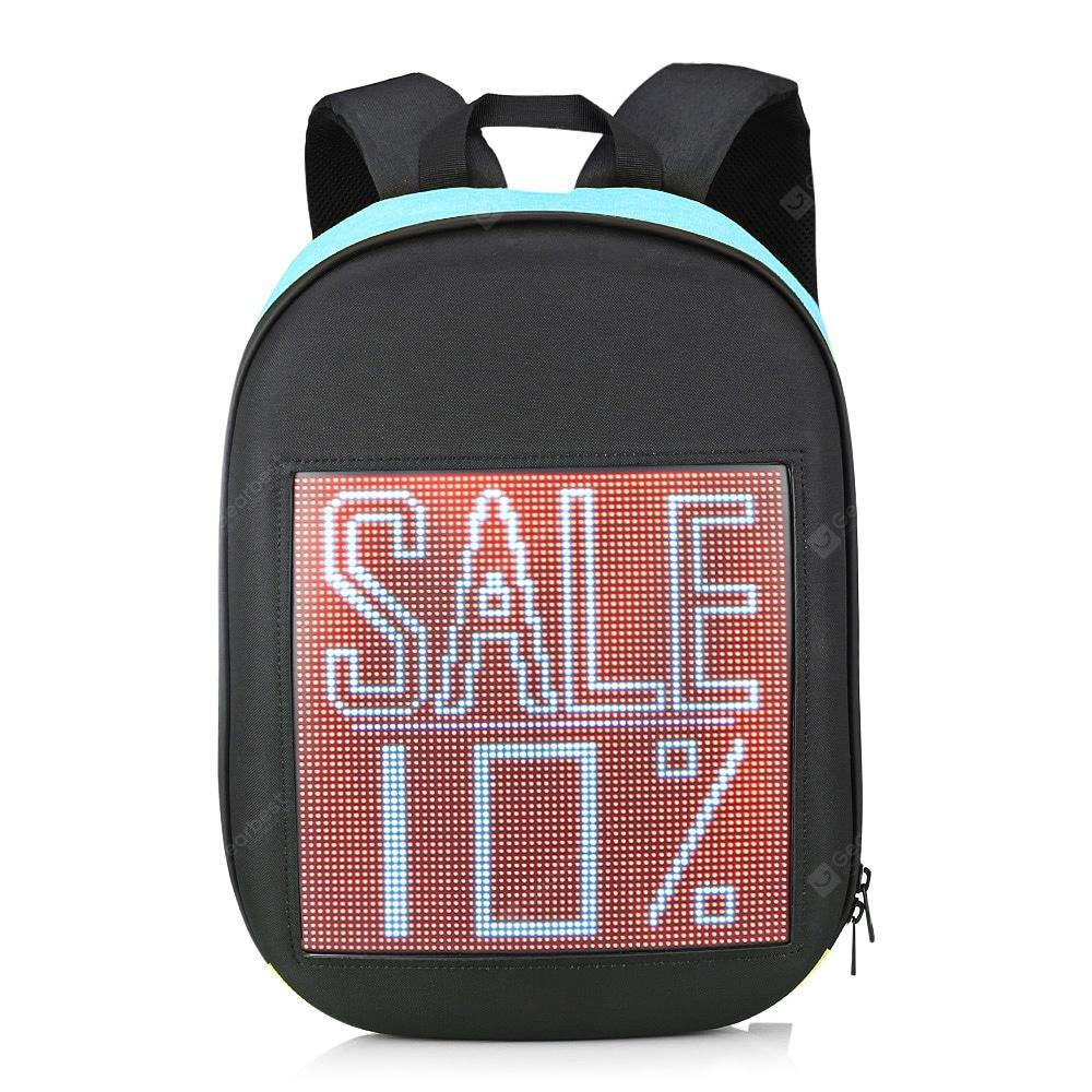 Fashion WIFI Version Smart LED Dynamic Backpack - FLJ CORPORATIONS