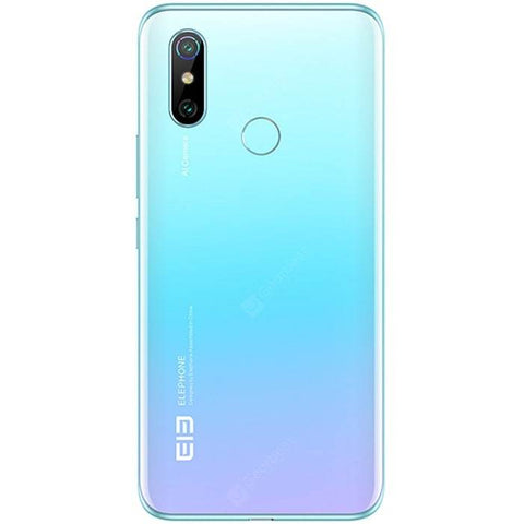 Elephone U3H 4G Smartphone 6.53 inch Android 9.0 Helio P70 Octa Core 8GB RAM 256GB ROM 2 Rear Camera 3500mAh Battery Global Version - FLJ CORPORATIONS