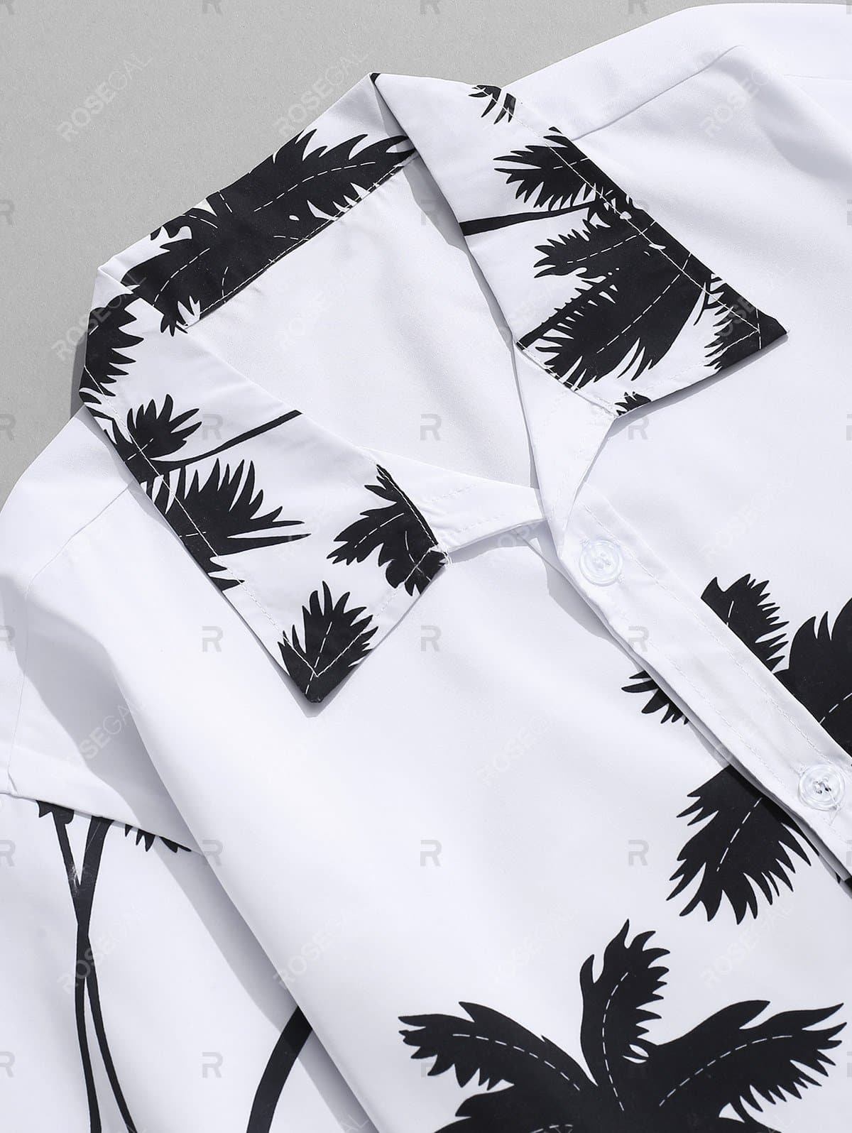 Coconut Palm Printed Hawaii Shirt and Beach Shorts - Xl - FLJ CORPORATIONS