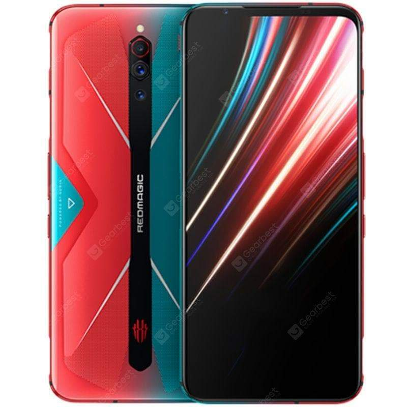 NUBIA RedMagic 5G Gaming Smartphone 8-core Snapdragon 865 Phone 12GB 256GB 6.65 inch RedMagic OS Camera 64MP + 8MP + 2MP 4500mAh Battery Capacity Global Version - FLJ CORPORATIONS
