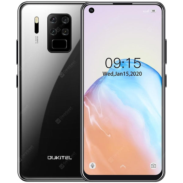 Oukitel C18 Pro 4G Smartphone Helio P25 MT6757 6.55 Inch Android 9.0 Rear Camera 16M + 2M + 8M + 5M Battery 4000mAh Global Version - FLJ CORPORATIONS