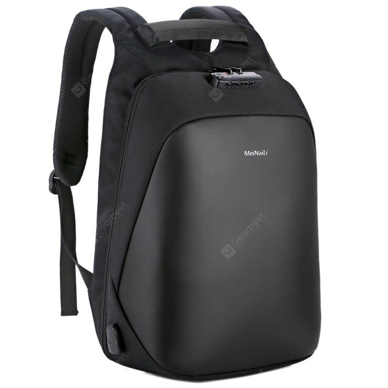 Men's Computer Backpack Smart USB Charging Multifunctional Business Travel Anti-theft Shoulders Bag