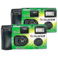 Fujifilm Disposable 35mm Camera With Flash, 2 Pack - FLJ CORPORATIONS