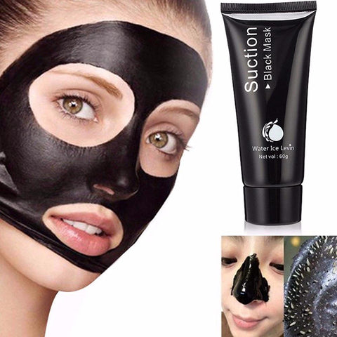 Water ice Lai 60g to black mask, oil control cosmetics, tearing, bamboo charcoal blackhead mask, acne - FLJ CORPORATIONS