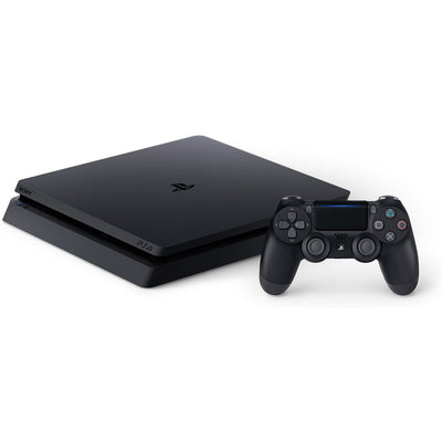 Sony PlayStation 4 Slim 500GB Gaming Console, Black, CUH-2115A - FLJ CORPORATIONS