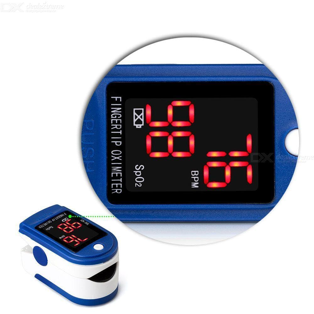 Professional Health-OX Fingertip Pulse Oximeter For Adults Kids - FLJ CORPORATIONS