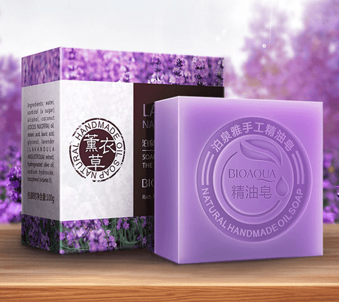BIOAQUA Natural Organic Herbal Essential Oil Soap Whitening Handmade Soap Skin Remove Acne Deep Cleansing Face Hair Care Bath (China) - FLJ CORPORATIONS