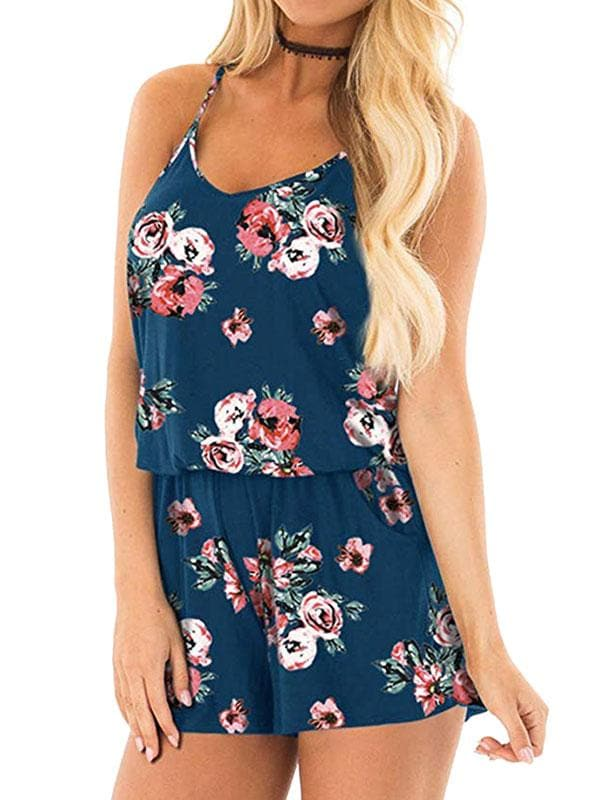 High Waist Playsuit Romper - FLJ CORPORATIONS