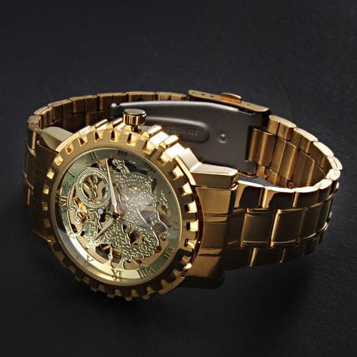 A full automatic Winner men's automatic mechanical table, men's automatic mechanical watch steel strip - FLJ CORPORATIONS