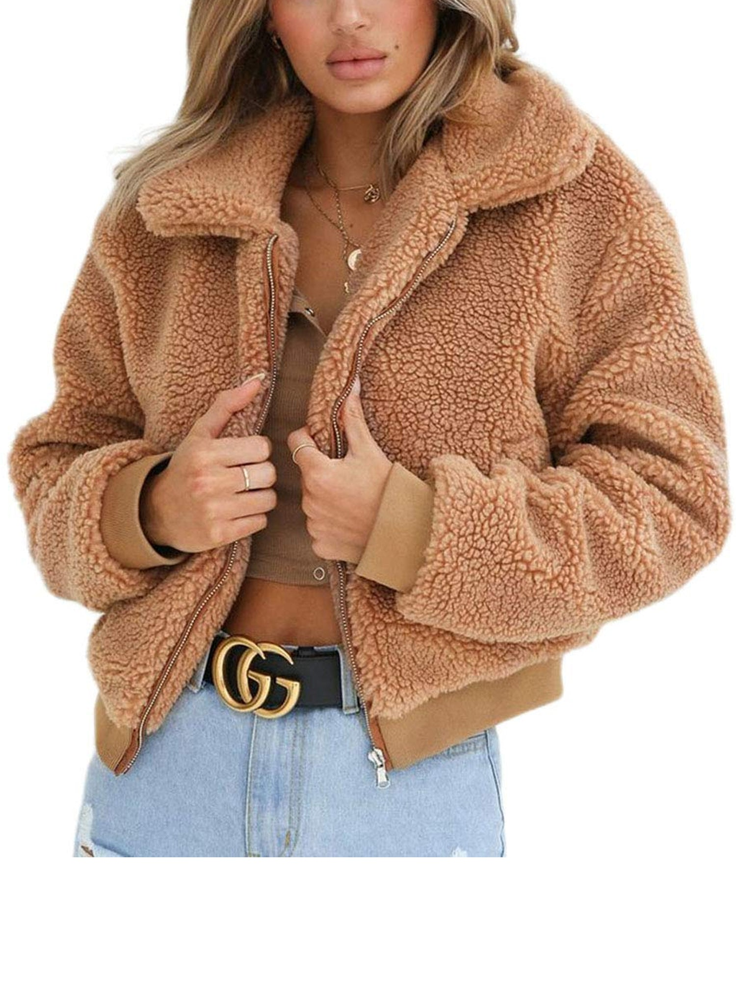 Thick Warm Teddy Bear Jacket - FLJ CORPORATIONS