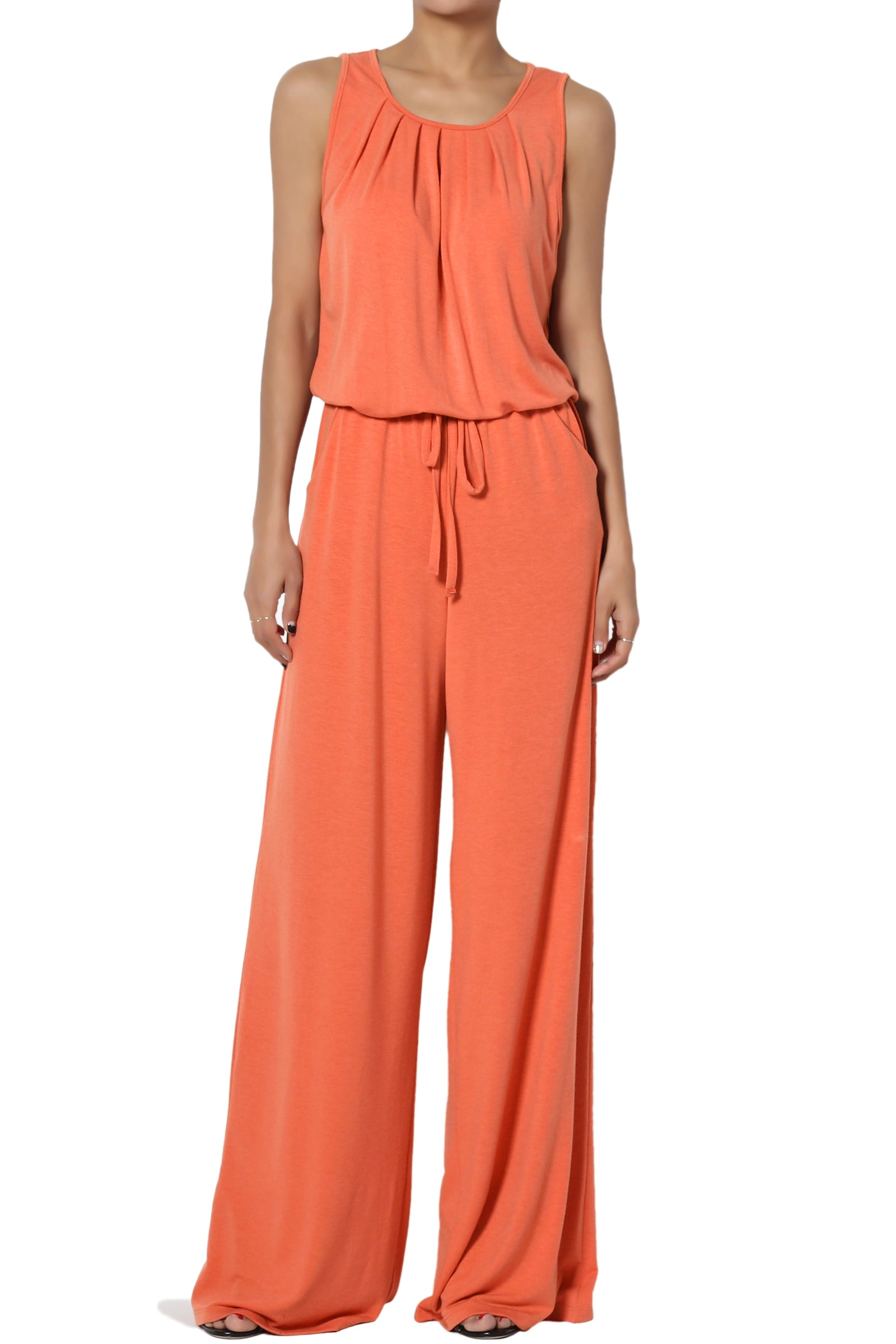 Wide Leg Pants Jumpsuit - FLJ CORPORATIONS