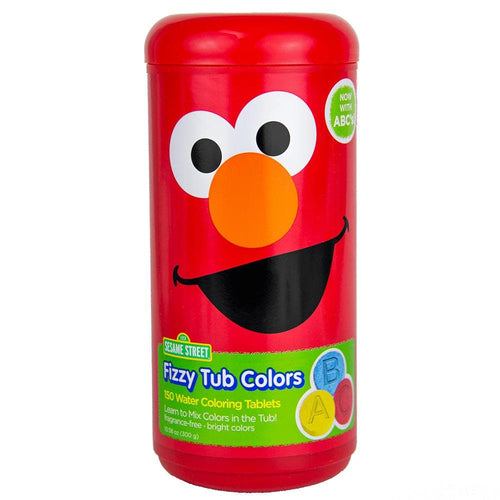 Sesame Street Fizzy Tub Color Tablets Assorted Bathwater Colors 150 Ct - FLJ CORPORATIONS