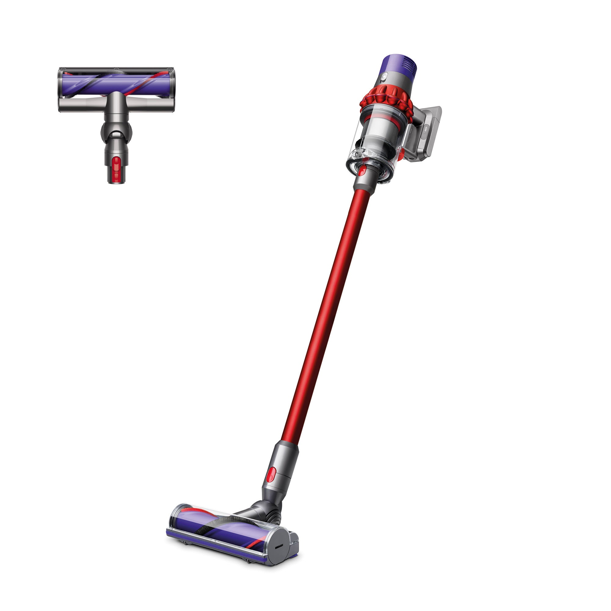 Dyson V10 Motorhead Cordless Vacuum Cleaner | Red | Refurbished - FLJ CORPORATIONS