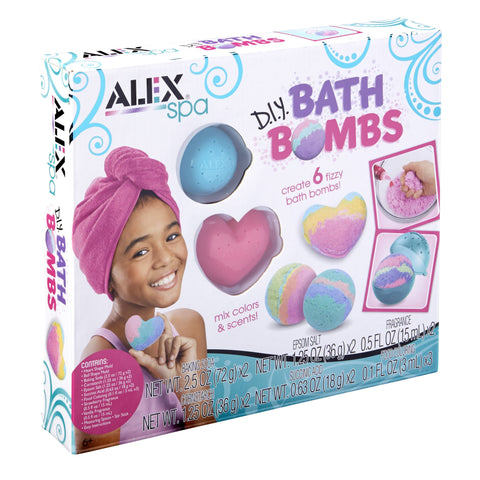 ALEX Spa DIY Bath Bombs - FLJ CORPORATIONS