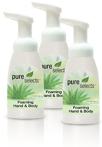 Pure Selects Foaming Hand Soap Dispenser - 3 pack - for use with Pure Selects Fo - FLJ CORPORATIONS