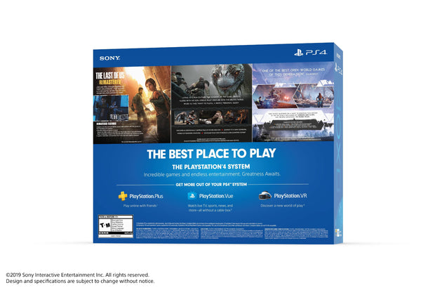 Sony PlayStation Slim 4 1TB Only on PlayStation PS4 Console Bundle, Black - FLJ CORPORATIONS