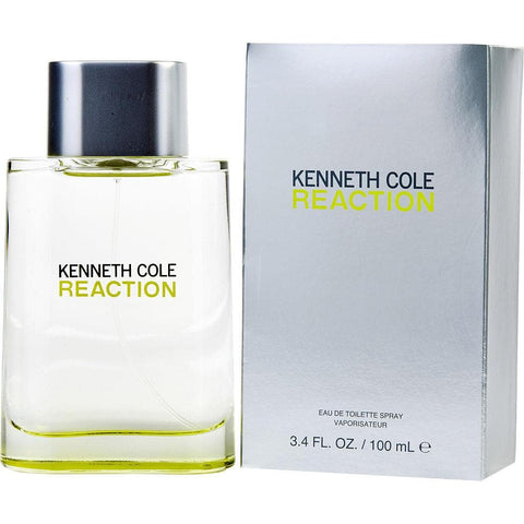 Kenneth Cole Reaction Eau De Toilette Spray, Cologne for Men, 3.4 Oz - FLJ CORPORATIONS