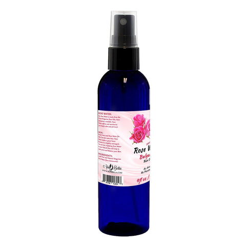 Natural Rose Water Face Toner - 100% Pure Bulgarian Rosewater Hydrosol, Natural Skin Toner – Reduce Redness and helps with Acne Prone Skin - Facial Fine Mist Spray 4 oz - FLJ CORPORATIONS