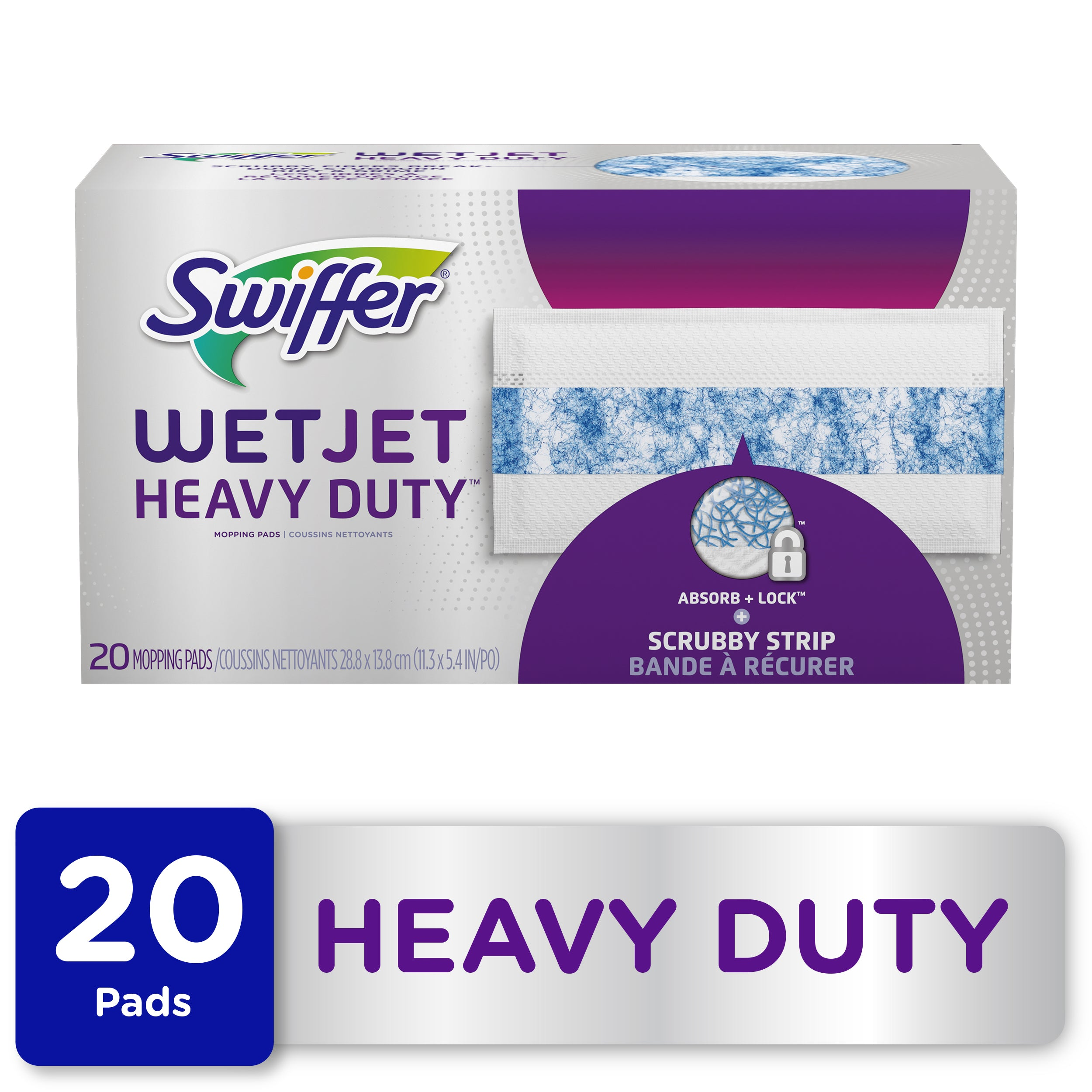 Swiffer WetJet Heavy Duty Mopping Pad Refills, 20 Ct - FLJ CORPORATIONS