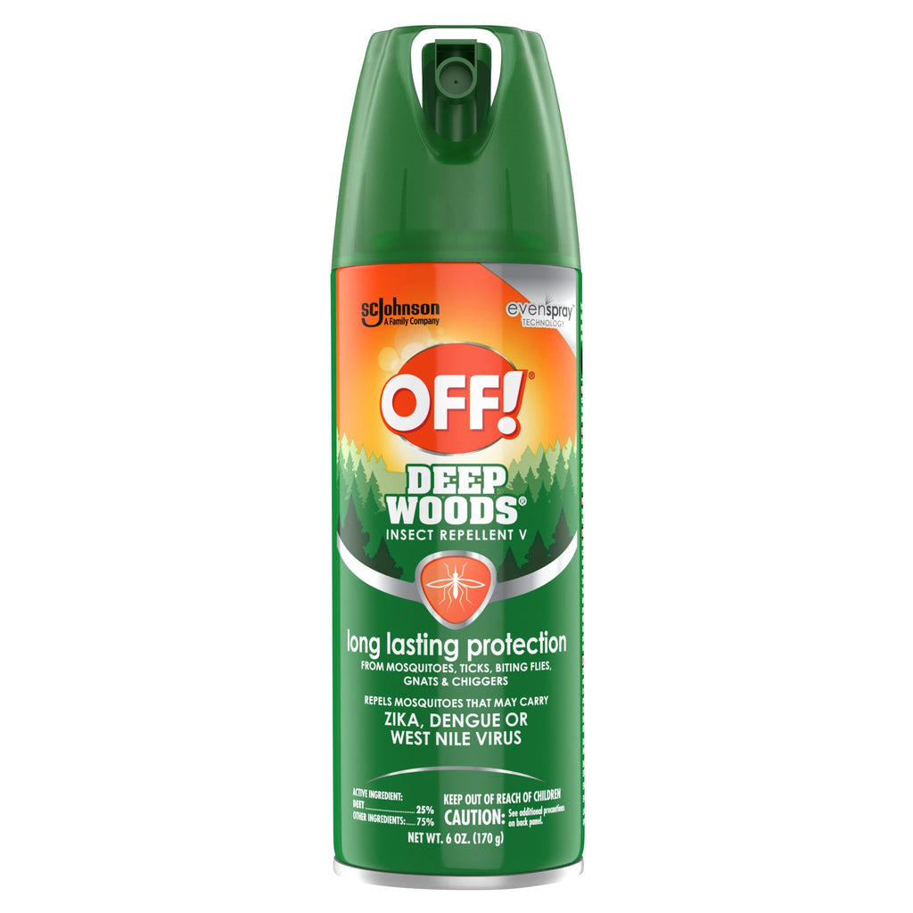 OFF! Deep Woods Insect Repellent V - FLJ CORPORATIONS