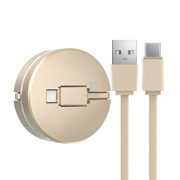 1M Retractable Mini Micro USB Cable for Samsung Cute Fast Charging USB Data Cable For Xiaomi Huawei Android Smartphone