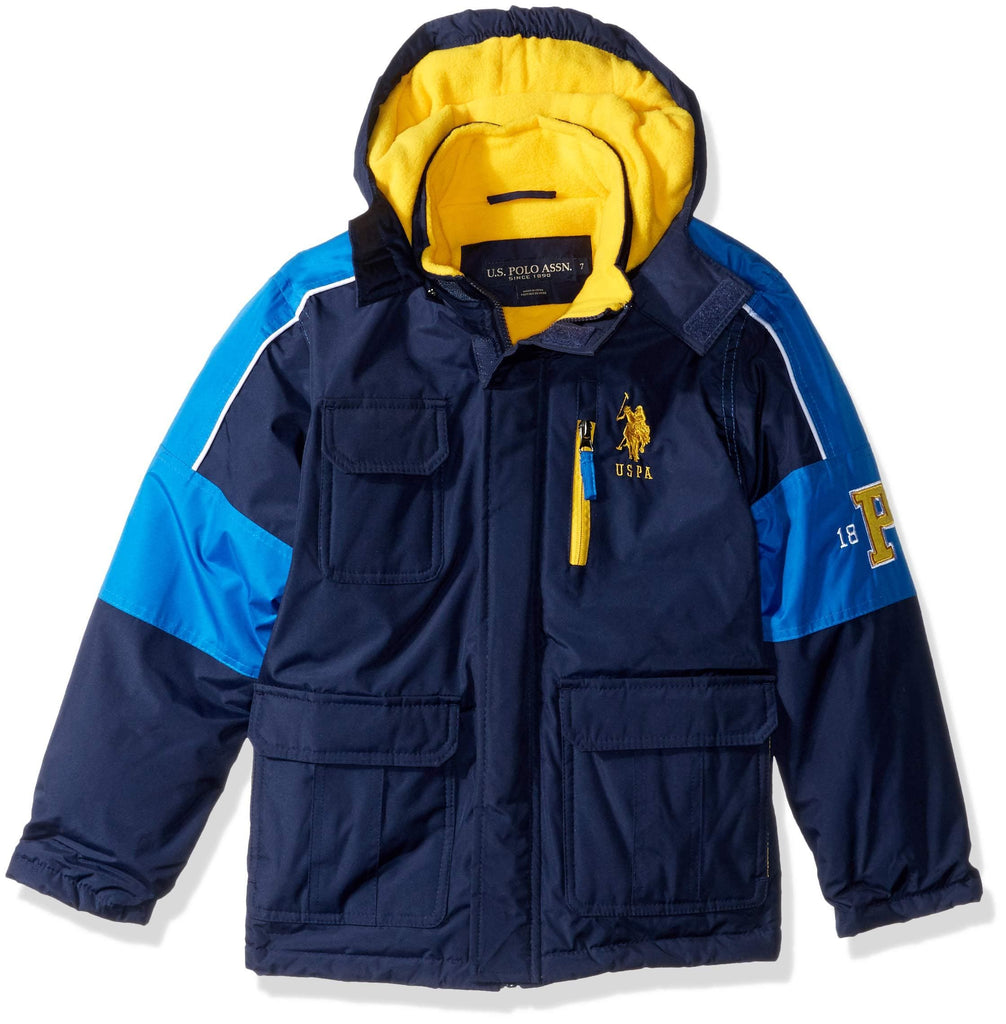 Boy's Stadium Parka Jacket - FLJ CORPORATIONS