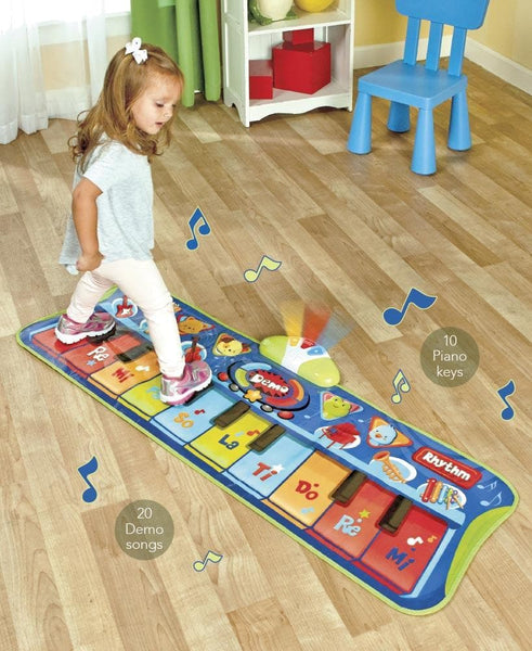 Step-to-Play Junior Piano Mat™ - FLJ CORPORATIONS